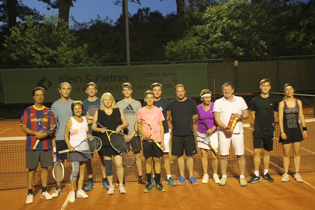 Teilnehmer Moonlight-Turnier