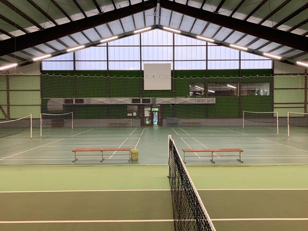 Ansicht Badminton
